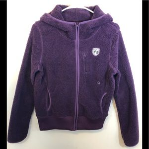 American Eagle Outfitters Fleece Jacket Hoodie Zip